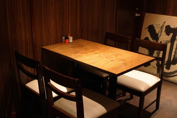 テーブル席(小)